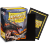 Kép 1/2 - Dragon Shield Matte - Non-glare - Black Amina (100 Sleeves)