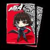 Kép 1/2 - UP - Deck Protector Sleeves - Persona 5: Chibi Mikoto (65 Sleeves)