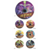 Kép 1/2 - Gamegenic KeyForge Chain Tracker Set (2x7 Trackers)