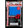 Kép 1/2 - KMC Standard Sleeves - Super  (Alpha) Blue (80 Sleeves)