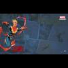 Kép 1/2 - FFG - Marvel Champions: Captain Marvel Game Mat