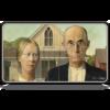 Kép 1/2 - UP - Fine Art Playmat - American Gothic
