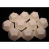 Kép 1/2 - Chessex Opaque Polyhedral Bag of 10 Blank dice - Opaque Polyhedral Ivory Bag of 12 Blank 12-sided dice