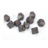 Kép 1/2 - Chessex Opaque Polyhedral Ten d10 Set - Dark Grey/copper