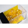 Kép 1/2 - Chessex Translucent Polyhedral 7-Die Set - Yellow/white