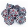 Kép 1/2 - Chessex Speckled Polyhedral 7-Die Set - Granite