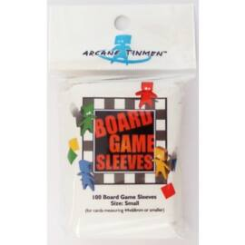 Board Games Sleeves - European Variant - Small Cards (44x68mm) - 100 Pcs