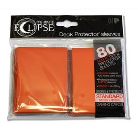 UP - Standard Sleeves - PRO-Matte Eclipse - Orange (80 Sleeves)