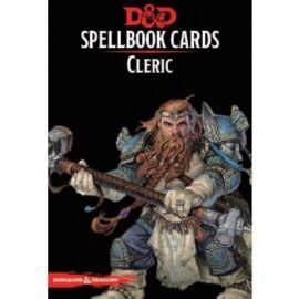 D&D Spellbook Cards - Cleric (153 Cards) - EN