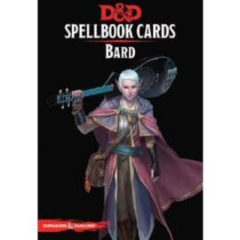 D&D Spellbook Cards - Bard (128 Cards) - EN