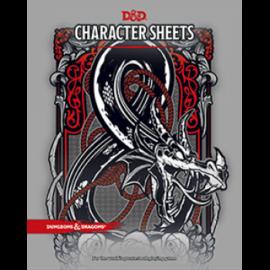 Dungeons & Dragons RPG - Character Sheets - EN