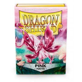 Dragon Shield Standard Sleeves - Matte Pink (60 Sleeves)