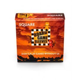 Board Games Sleeves - Non-Glare - Square (69x69mm) - 50 Pcs