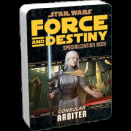 FFG - Star Wars RPG: Force and Destiny - Arbiter Specialization Deck - EN