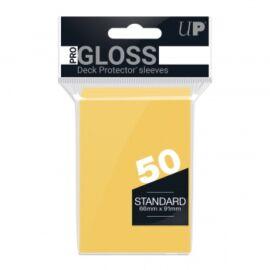 UP - Standard Sleeves - Yellow (50 Sleeves)