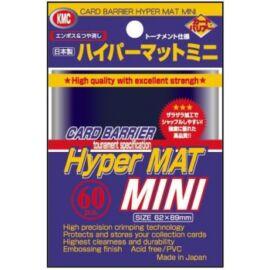 KMC Small Sleeves - Hyper Mat Blue (60 Sleeves)