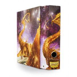 Dragon Shield Slipcase Binder - 'Glist' Gold