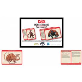 D&D Monster Card Deck Levels 0-5 (195) - EN