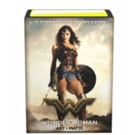 Justice League Matte Art Sleeves - Wonder Woman (100 Sleeves)