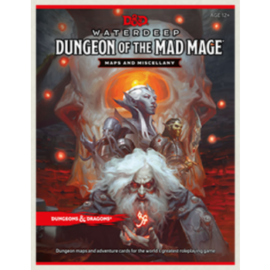 D&D RPG - Dungeon of the Mad Mage Maps and Miscellany - EN