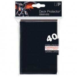 UP - Oversized Top Loading Sleeves - Black (40 Sleeves)