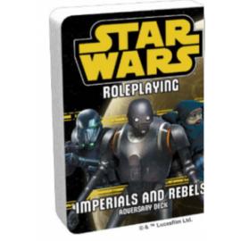 FFG - Star Wars RPG: Imperials and Rebels III Adversary Deck - EN