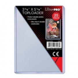 "UP - Toploader - 3-1/2 X 5-1/8"" (25 pieces)"""