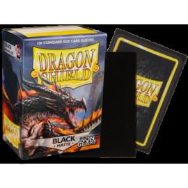 Dragon Shield Matte - Non-glare - Black Amina (100 Sleeves)