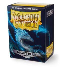 Dragon Shield Standard Matte Sleeves - Night Blue (100 Sleeves)