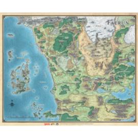 D&D: Sword Coast Adventurer's Guide Faerűn Map