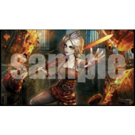 UP - Wall Scroll - Magic: The Gathering - War of the Spark Alternate Art Playmat - Nahiri