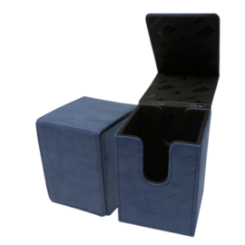 UP - Suede Collection Alcove Flip Deck Box - Sapphire