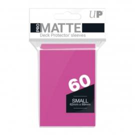 UP - Small Sleeves - Pro-Matte - Bright Pink (60 Sleeves)