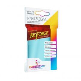 Gamegenic KeyForge Inner Sleeves - Clear (40 Sleeves)