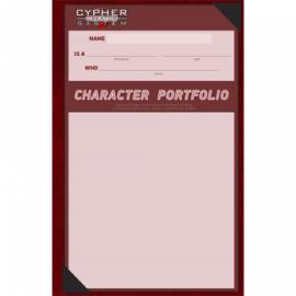 Cypher System Character Portfolio - EN