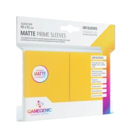 Gamegenic - Matte Prime Sleeves Yellow (100 Sleeves)