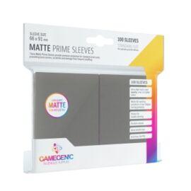 Gamegenic - Matte Prime Sleeves Dark Gray (100 Sleeves)