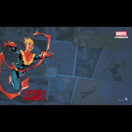 FFG - Marvel Champions: Captain Marvel Game Mat
