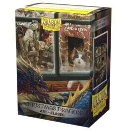 Dragon Shield Classic Art Sleeves - Christmas Dragon (100 Sleeves)