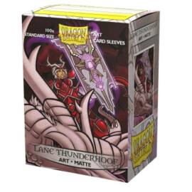 Dragon Shield Matte Art Sleeves - Lane Thunderhoof Portrait (100 Sleeves)
