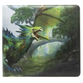 Dragon Shield Card Codex Zipster Binder - XL Olive 'Lavom'