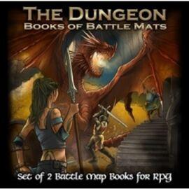 The Dungeon Books of Battle Mats - EN