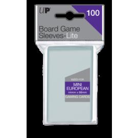 UP - Lite Mini European Board Game Sleeves 44mm x 68mm (100 Sleeves)