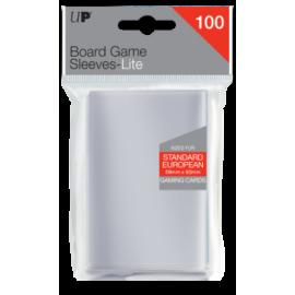 UP - Lite Standard European Board Game Sleeves 59mm x 92mm (100 Sleeves)