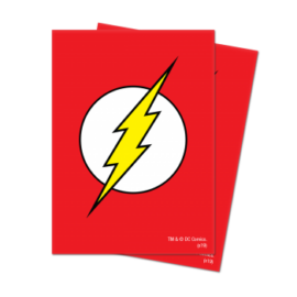 UP - Sleeves Standard - Justice League:The Flash Deck Protector Sleeves (65 Sleeves)