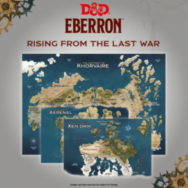 "D&D - Rising From The Last War - Eberron"" - Map Set x3"""