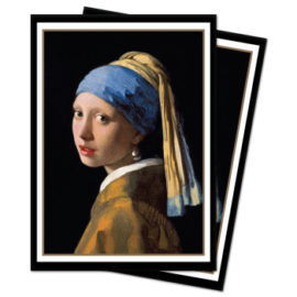 UP - Sleeves Standard - Fine Art - The Girl with the Pearl Earring (100 Sleeves)