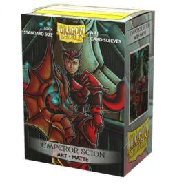 Dragon Shield Matte Art Sleeves - Emperor Scion: Portrait (100 Sleeves)
