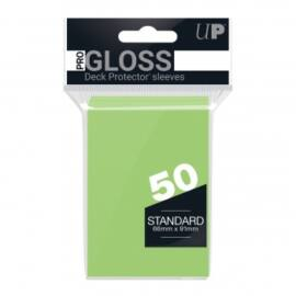 UP - Standard Sleeves - Lime Green (50 Sleeves)