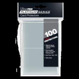 "UP - 2-1/2 X 3-1/2"" Platinum Series Card Protectors (100 Sleeves)"""